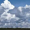 Cloud Study by Jeanne Cutler