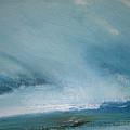 Cloud Study by Judy  Blundell