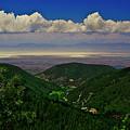Cloudcroft Canyon View by Jennifer Sensiba
