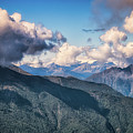 Clouds Above Mottarone by James Billings