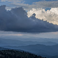 Clouds And Mountain Range by John MacLean