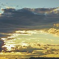 Clouds And Setting Sun In Late Fall Afternoon by NaturesPix