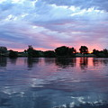 Clouds And Sunset Reflection In Prosser by Carol Groenen
