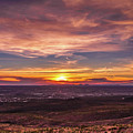 Clouds And Sunset by Subhadra Burugula