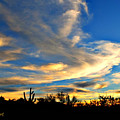 Clouds At Sunset by L L Stewart