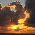 Clouds At Sunset by Peter Penny