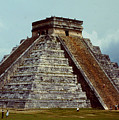 Clouds Crowd Kukulkan by Roy Anthony Kaelin
