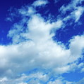 Clouds In A Beautiful Blue Sky by Sami Sarkis
