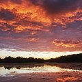 Clouds On Fire by Heather Kenward