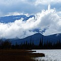 Clouds On The Mountains by Larry Ricker