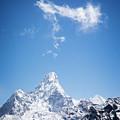 Clouds Over Ama Dablam by Scott Kemper