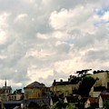 Clouds Over Amboise by Donald Hansen