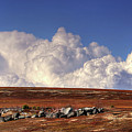 Clouds Over Blueberry Barren by John Meader