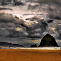 Clouds Over Cannon Beach by David Patterson