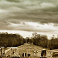 Clouds Over Cemetery by Michael Vines