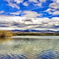 Clouds Over Distant Mountains by Jeffrey Kolker