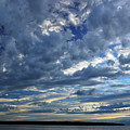 Clouds Over English Bay From Sunset Beach Vancouver by Reimar Gaertner