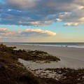 Clouds Over Holden Beach by Cynthia Guinn