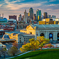 Clouds Over Kansas City by Inge Johnsson