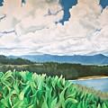 Clouds Over Kauai by Janice Petrella-Walsh