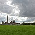 Clouds Over Kilmacduagh Abbey by Ann O Connell