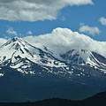 Clouds Over Mt Shasta by LKB Art and Photography
