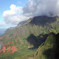 Clouds Over Napali II by Mary Haber