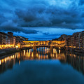 Clouds Over Ponte Vecchio by Aaron Choi