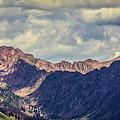 Clouds Over The Gore Range by Franz Zarda