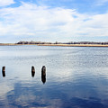 Clouds Over The Mullica River by Colleen Kammerer