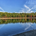 Clouds Over Walden Pond by Brian MacLean