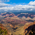 Clouds Part At The Grand Canyon by Ed Gleichman