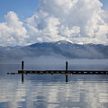 Clouds Reflecting Off Priest Lake by Carol Groenen