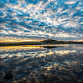 Cloudscape - Reflection Of Sky In Wichita Mountains Oklahoma by Sean Ramsey