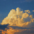 Cloudscape Xix - Painterly by David Gordon