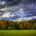 Cloudy Autumn by Francisco Gomez