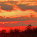 Cloudy But Bright Sunset by Tina M Wenger