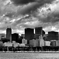 Cloudy Day Chicago - 2 by Ely Arsha