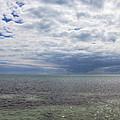 Cloudy Key West Panorama by Bob Slitzan