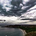 Cloudy Ocean View by Ronnie Alfaro