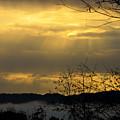 Cloudy Sunrise 3 by Teresa Mucha