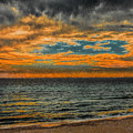 Cloudy Sunrise by Dave Bosse