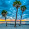 Cloudy Sunset -tampa, Florida by Lance Raab