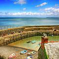 Clovelly Harbor In Devon, Uk by Chris Smith