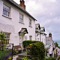 Clovelly Street View by Richard Brookes