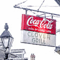 Clover Grill Coke Sign by Nancy Forehand
