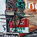Clover Grill - New Orleans by Paula Baker