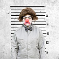 Clown Mug Shot by Jorgo Photography - Wall Art Gallery