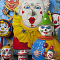 Clown Toys by Garry Gay