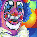 Clown With Balloons by Stephen Anderson